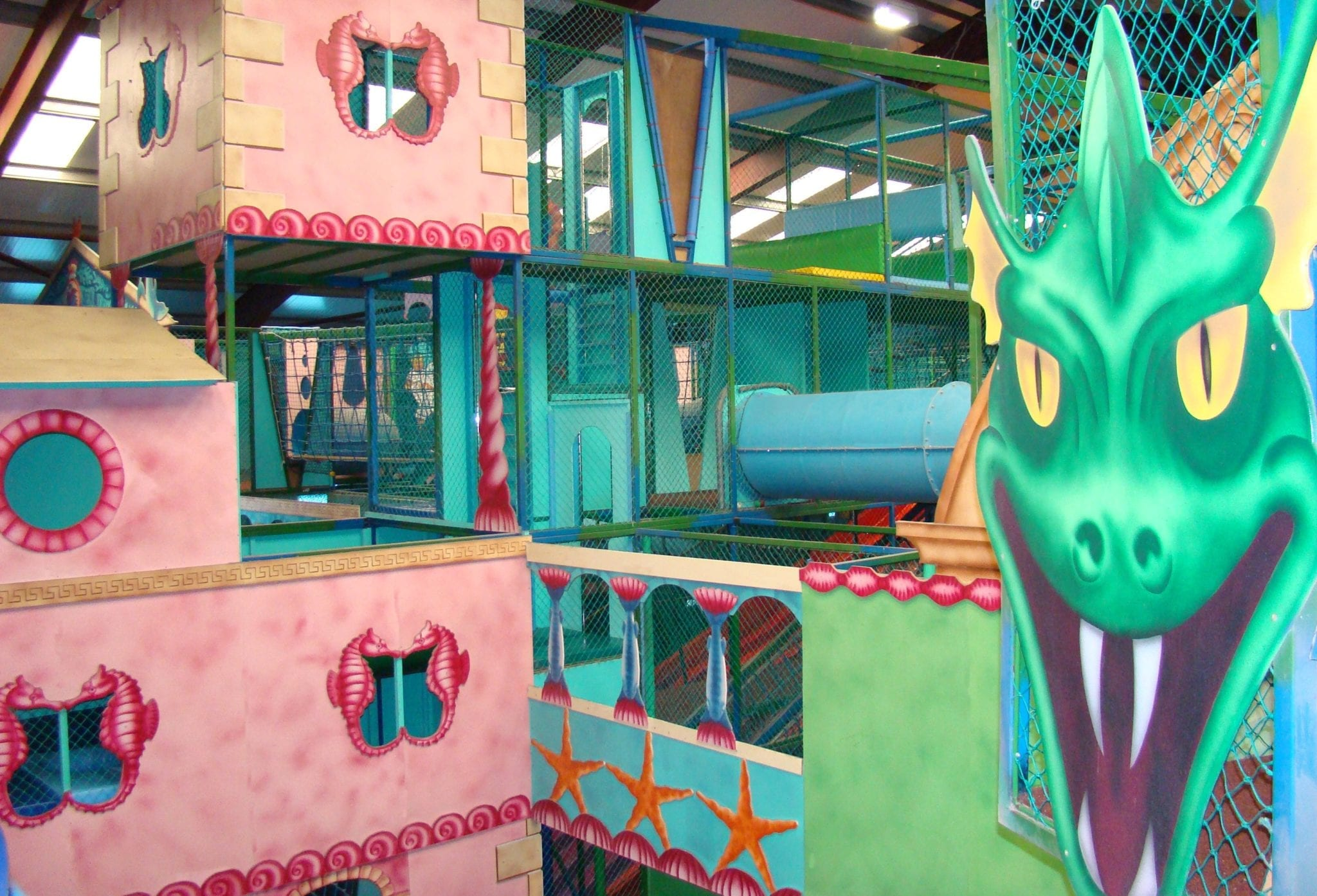 Biggest indoor play area in the uk sea monster zone for Inside play areas