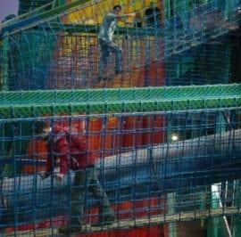 Indoor Play Area Bridge