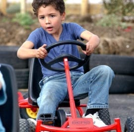 Artic Zone Pedal Karts