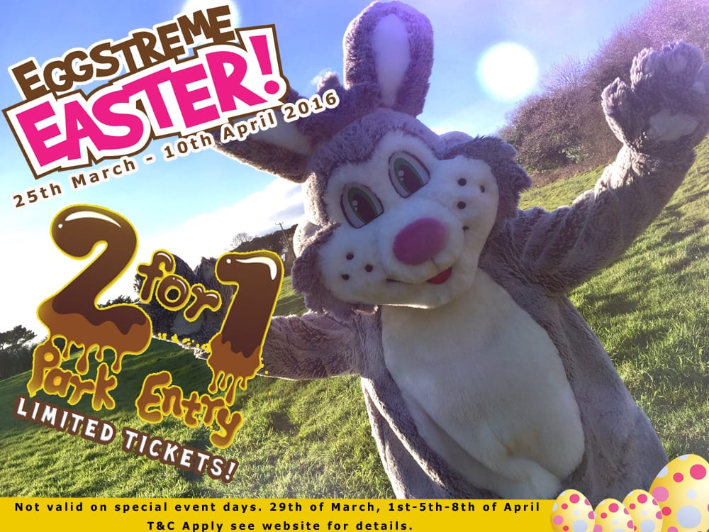 Easter Bunny 2 for 1 Offer