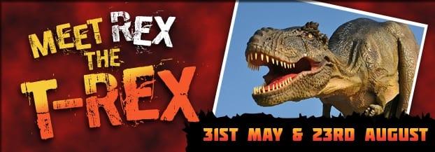 Meet Rex 31 May & 23rd Aug