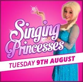 Singing Princesses - 9th Aug