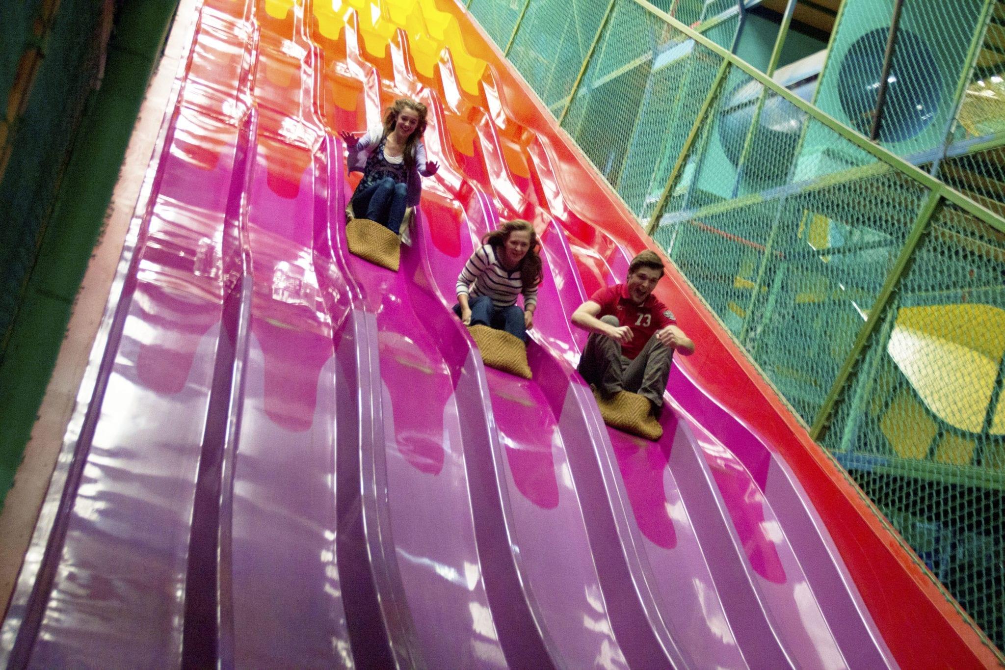 Biggest uk indoor play area sea monster zone woodlands for Indoor play slide