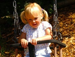 Toddlers Village Swing