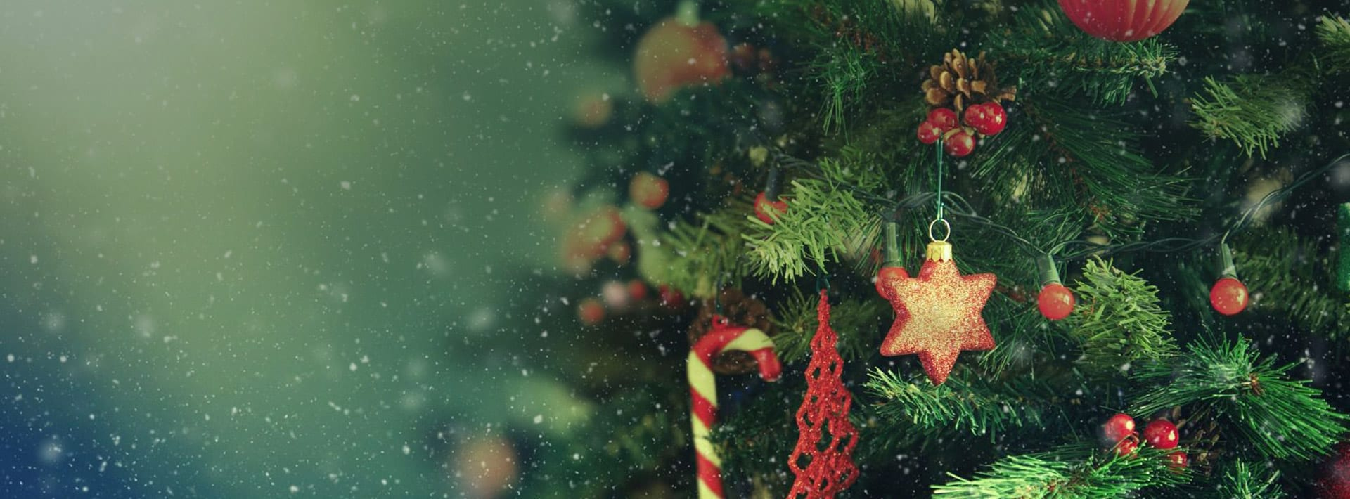 Christmas Gift Vouchers Background Image