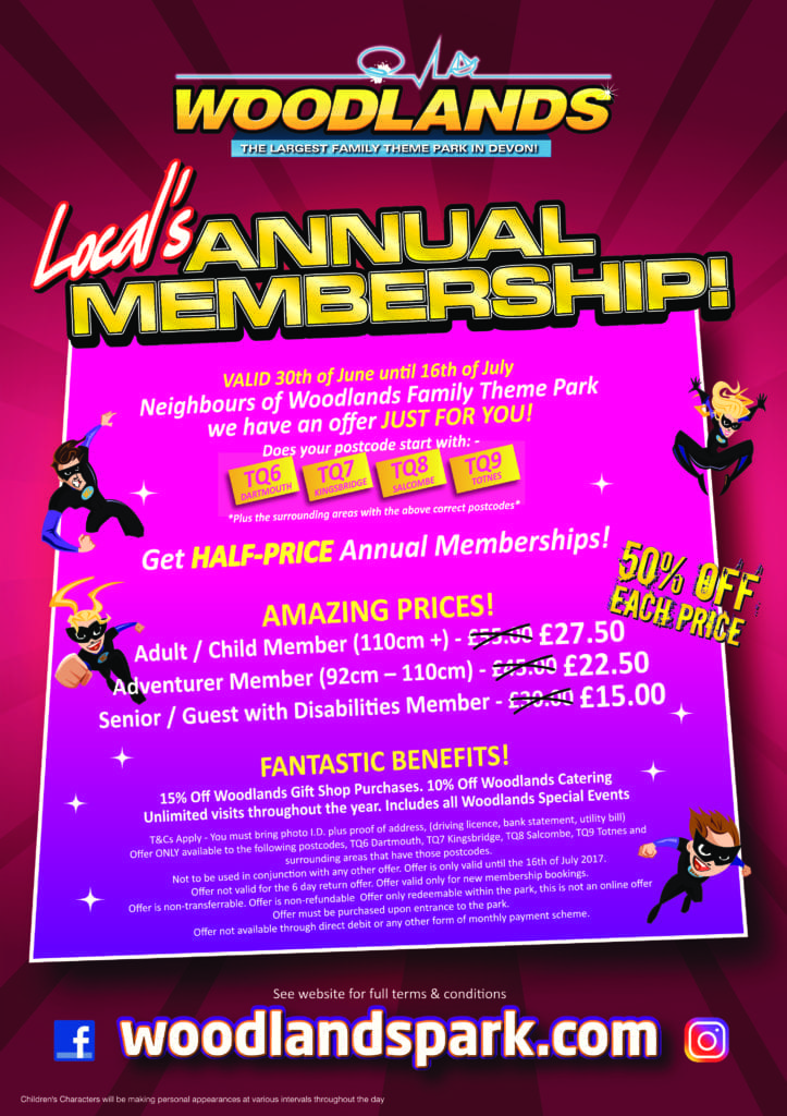 Locals Annual Pass – OFFER ENDED