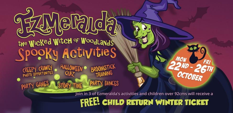 Ezmerlda Spooky Activities - Halloween 2018 - Halloween events in Devon