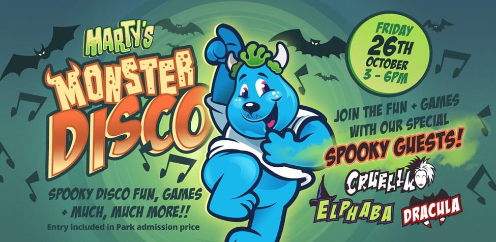 Martys Monster Disco - Halloween 2018 - Halloween Events in Devon