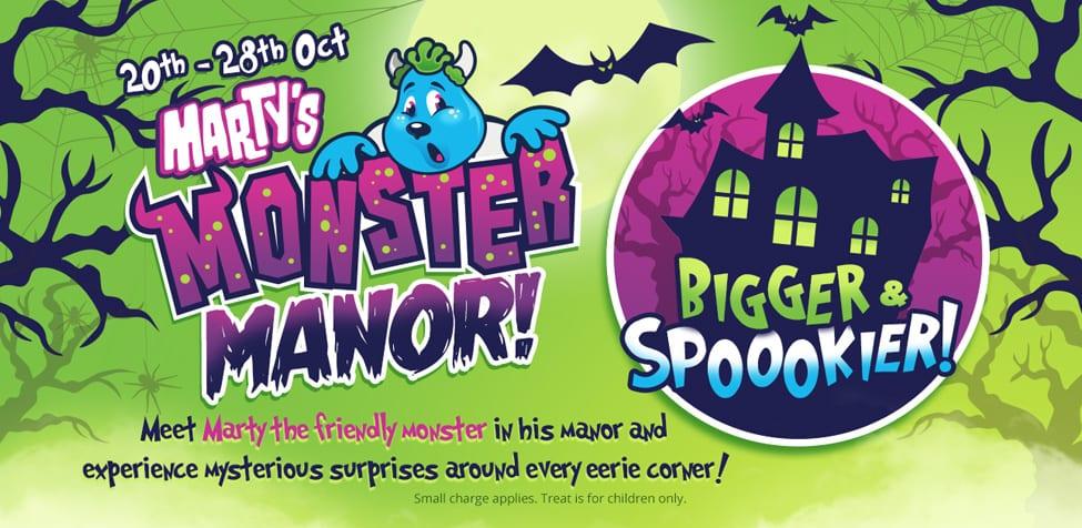 Marty's Monster Manor for Halloween 2018 - Halloween Events in Devon