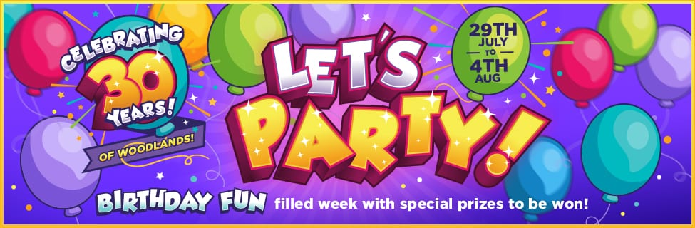 Lets party page banner
