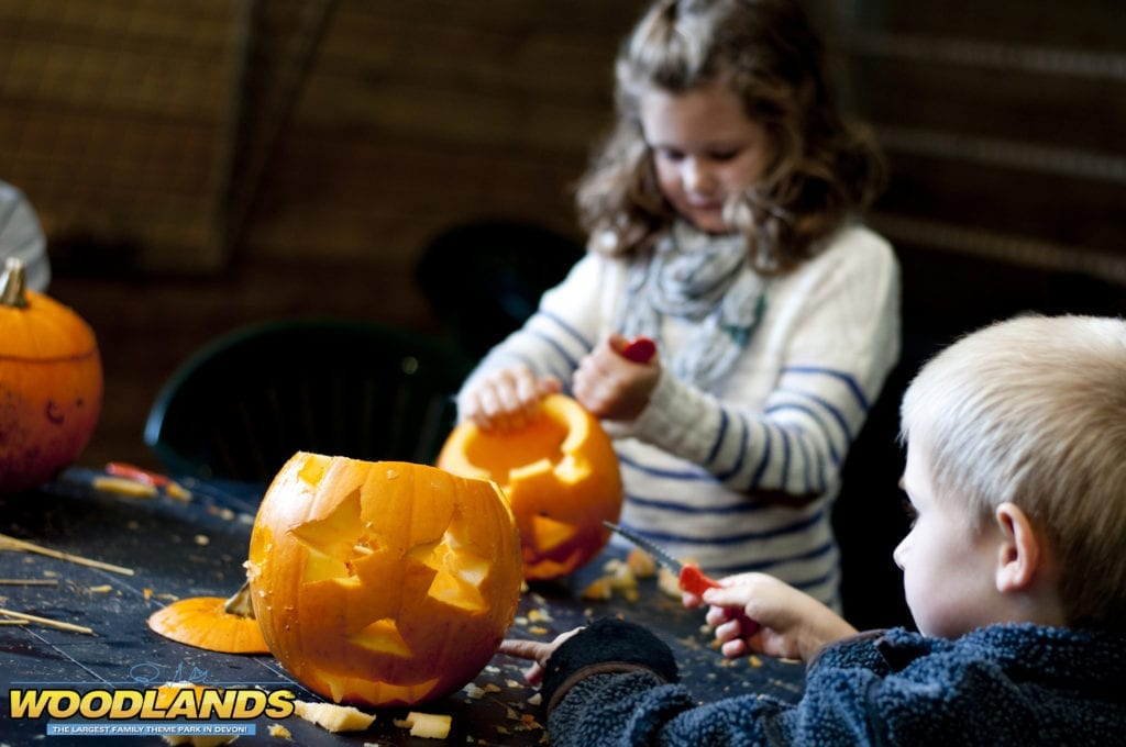 Woodlands Pumpkin Carving