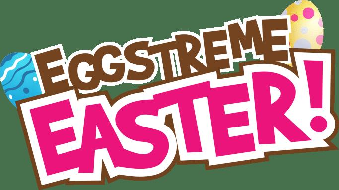 Eggstreme Easter Title